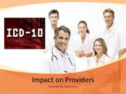 ICD-10 Impact on Providers