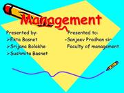 ppt on Management evolution