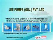 Jee Pumps guj Pvt. Ltd Gujarat India