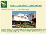 Quality Inn & Suites College Park MD