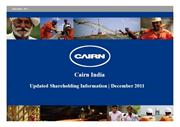 Cairn India Limited - Ravva | Geology and Stratigraphy