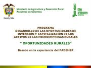 Oportunidades Rurales