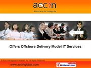 Accin Management Services, Inc. Tamil Nadu India