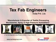 Tex-Fab Engineers India Private Limited Maharashtra India