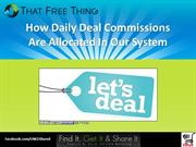Daily Deal Commissions