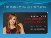 Human Hair Wigs, Lace Front Wigs