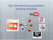 Top PowerPoint presentation sharing websites