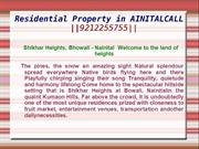 Residential Property in AINITALCALL   ||9212255755||