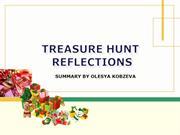 Treasure Hunt Exercises Reflections