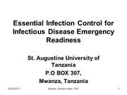 EssentialInfectionControl in public health