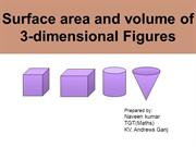 surface area & volumes for demo