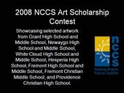 NCCS Art Scholarship Contest 2008