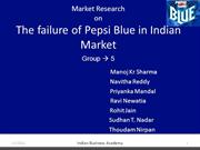-Market-Research-on-PEPSI-BLUE