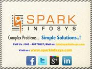 Spark Infosys - Web Development Services India