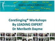 workshops-Coresinging