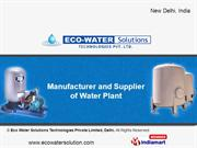 Eco Water Solutions Technologies Private Limited . Delhi India