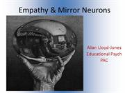 PAC mirror neuron powerpoint