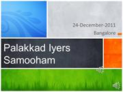 Palakkad Iyers - Presentation for Bangalore meet
