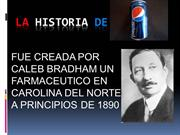 LA HISTORIA DE la pepsi