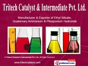 Tritech Catalyst and  Intermediate Pvt. Ltd Maharashtra India