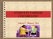 Ethics in Career Pres