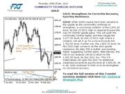 Commodity Technical Outlook 05 01 12