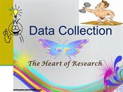 Data Collection Research ppt