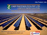 Easy Photovoltech Private Limited Uttar Pradesh India