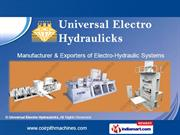Universal Electro Hydraulic Machines Private Limited Tamil Nadu India