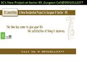 3C New Project Sector 89 Gurgaon Call@09310112377