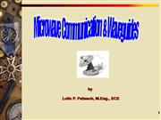Microwave Communications and Waveguides