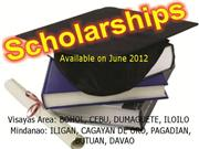 SCHOLARSHIPS FOR VISAYAS & MINDANAO