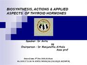 ENDOCRINE SYSTEM - THYROID GLAND by dr anita teli