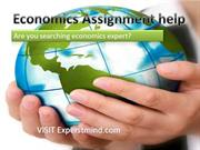 ExpertsMind.com |  Economics Assignment Help