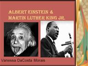 Albert Einstein & Martin Luther King Jr
