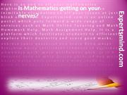 Math Assignment Help | ExpertsMind.com