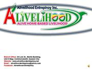 alivelihood video by marlon quinto