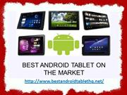 Best Android Tablet on the Market