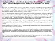 It's National Radon Action Month States SWAT Radon Mitigation
