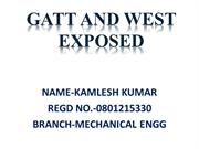 GATT AND WEST EXPOSED- NEW INDIAN ERA