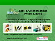 Excel & Green Machines Private Limited Uttar Pradesh india
