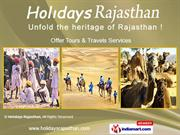 Holidays Rajasthan India