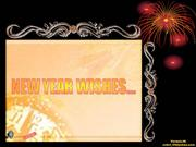 New Year Wishes...