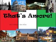That's Amore! - Lesson of Italian