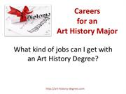 Art History Degree Careers