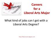 Liberal Arts Degree Careers