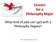 Philosophy Degree Careers