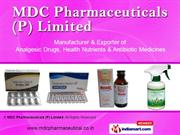 Mdc Pharmaceuticals p Limited  Chandigarh india