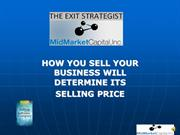 How You Sell Your Business and Price