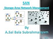 Storage Area Network (SAN)